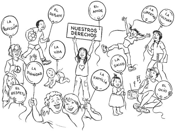 Día Universal De Los Derechos Del Niño Dibujos Para Descargar