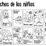 Dibujos del Día Mundial de los Derechos de la Infancia para colorear