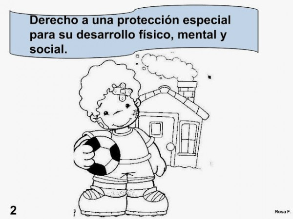 Día Internacional de los Derechos del Niño – Dibujos para