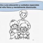 Día Internacional de los Derechos del Niño – Dibujos para pintar