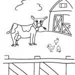 +50 imágenes de granjas y animales para colorear: Pintando dibujos infantiles de la granja