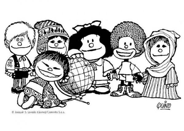 Culturas Del Mundo Para Colorear: Día Mundial De La Infancia