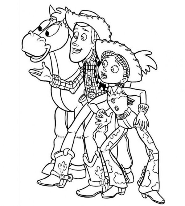 Dibujos De Toy Story Para Imprimir Y Pintar Colorear