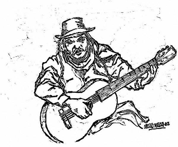 Tocando la guitarra - 1 2