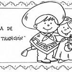Dibujos del Día de la Tradición con gauchos y Martin Fierro para imprimir y colorear el 10 de noviembre