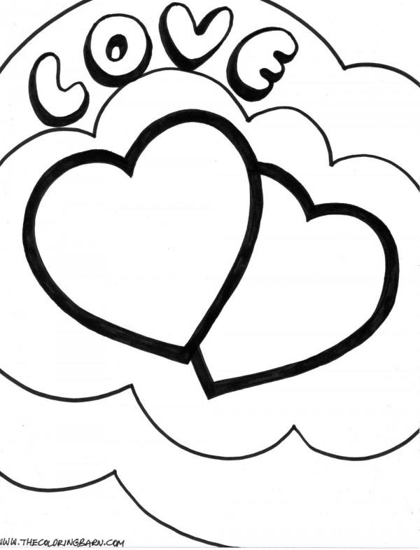 74 Corazones De Amor Para Pintar Imprimir Descargar Y Regalar