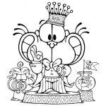 Dibujos del gato Gaturro para imprimir y colorear
