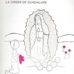 Dibujos para pintar de Nuestra Señora de Guadalupe