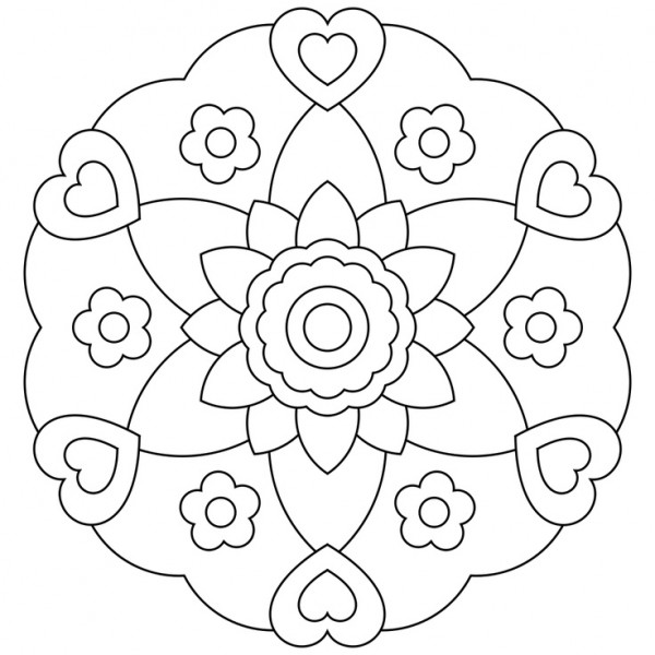 Mándalas para pintar: Mandalas para colorear en fechas ...