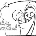 Dibujos de Navidad para imprimir y colorear