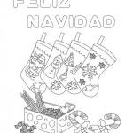Tarjetas de Felíz Navidad para imprimir, colorear y regalar