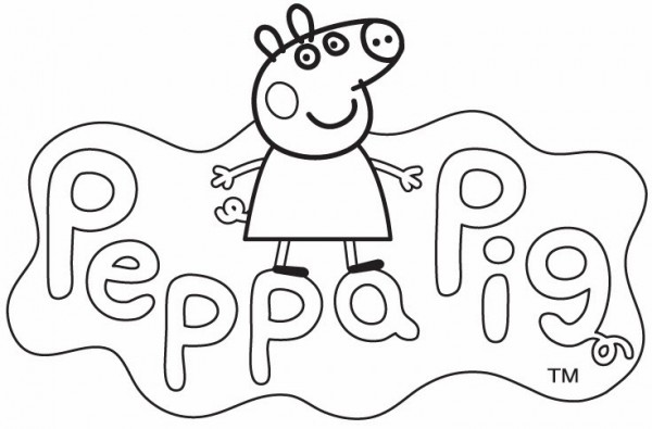Divertidos dibujos de Peppa Pig para imprimir y colorear | Colorear ...