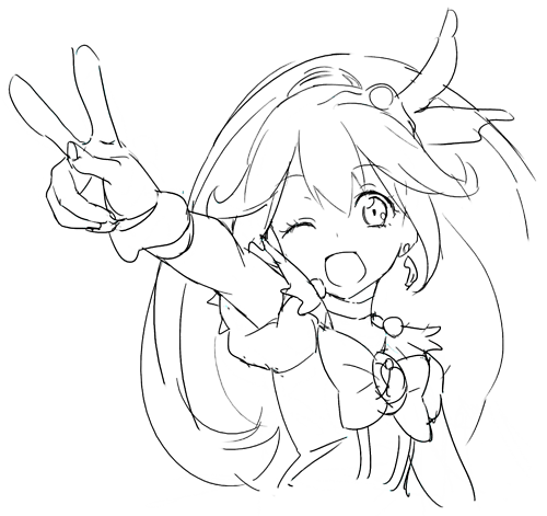dibujos para colorear kawaii anime