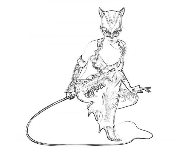 Im 225 Genes De Catwoman Gat 250 Bela Para Pintar Colorear