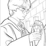 Harry Potter – Dibujos para imprimir y colorear