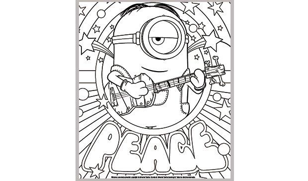 56 Dibujos De Minions Para Descargar Gratis Imprimir Y Pintar