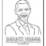 Dibujos del presidente de los Estados Unidos, Barack Obama para pintar