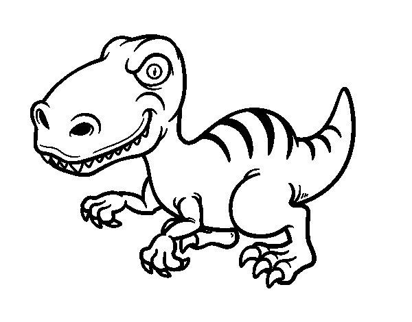 dinosaurio-velociraptor-colorear