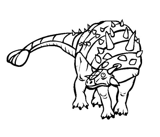 euplocephalus para colorear