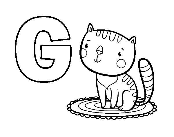 g-de-gato-colorear