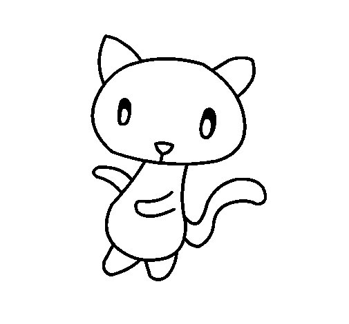 gato-garabato-colorear