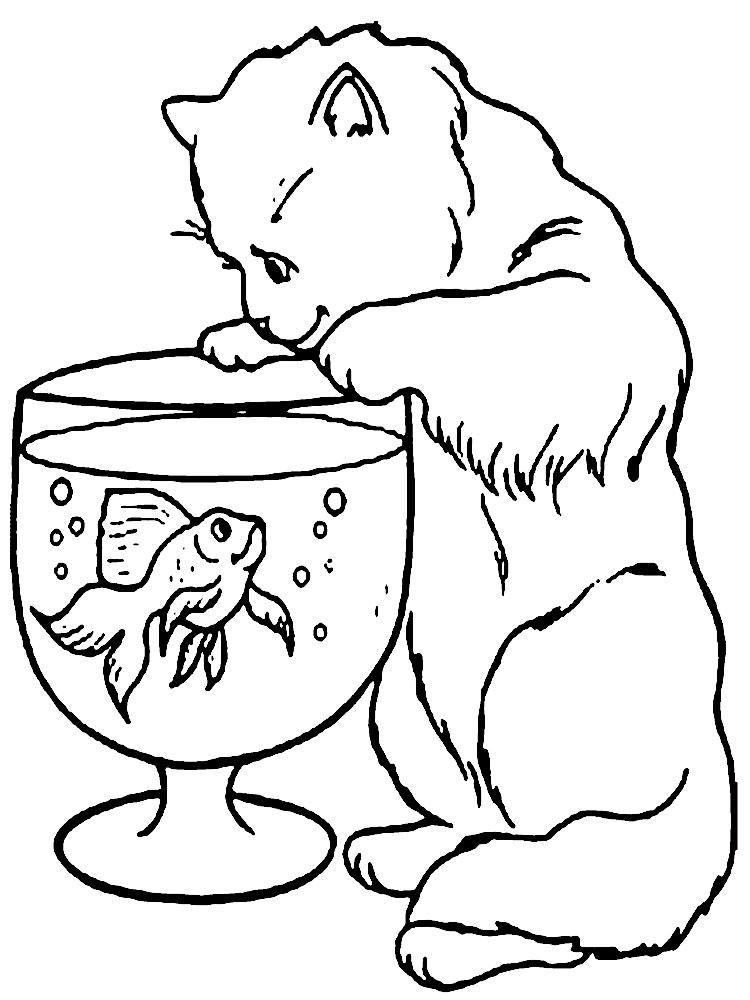 im1228-Imprimir-gratis-dibujos-para-colorear---Gato-1