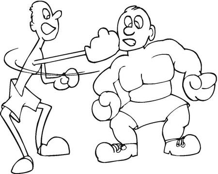 boxeo-dibujos-para-colorear