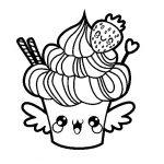 Imágenes kawaii para colorear: Bonitos dibujitos animados para pintar