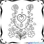 Tarjetas del Día de San Valentín para pintar y dedicar