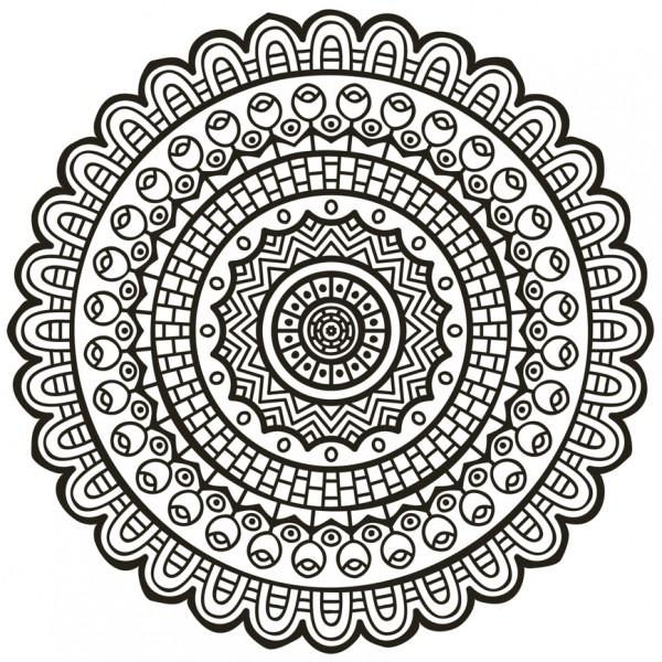 Imágenes de mandalas para colorear muy bonitas | Colorear imágenes