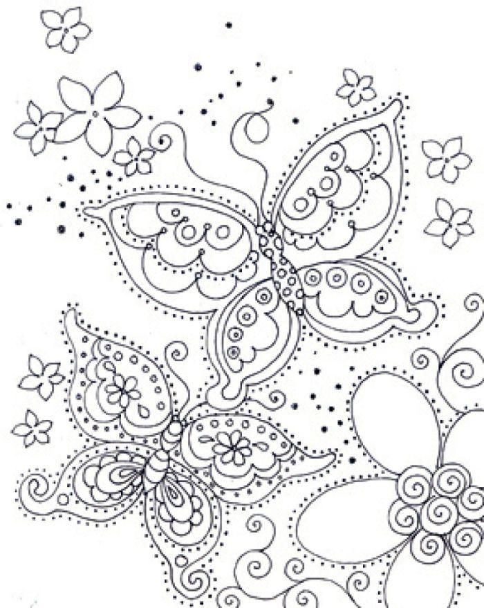 dibujos-para-colorear-mandala-mariposas