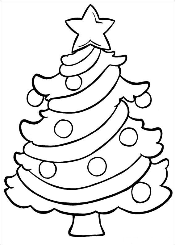 Imágenes para colorear de Árboles de Navidad | Colorear imágenes