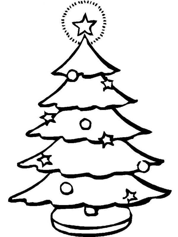 Imagenes Para Colorear De Arboles De Navidad Colorear Imagenes