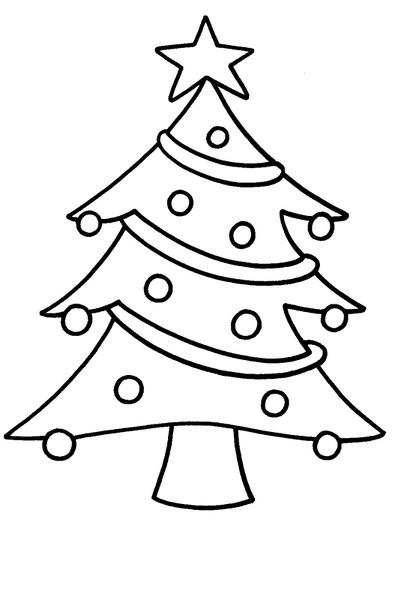 Im genes para colorear de rboles de navidad colorear im genes - Sapin a dessiner ...