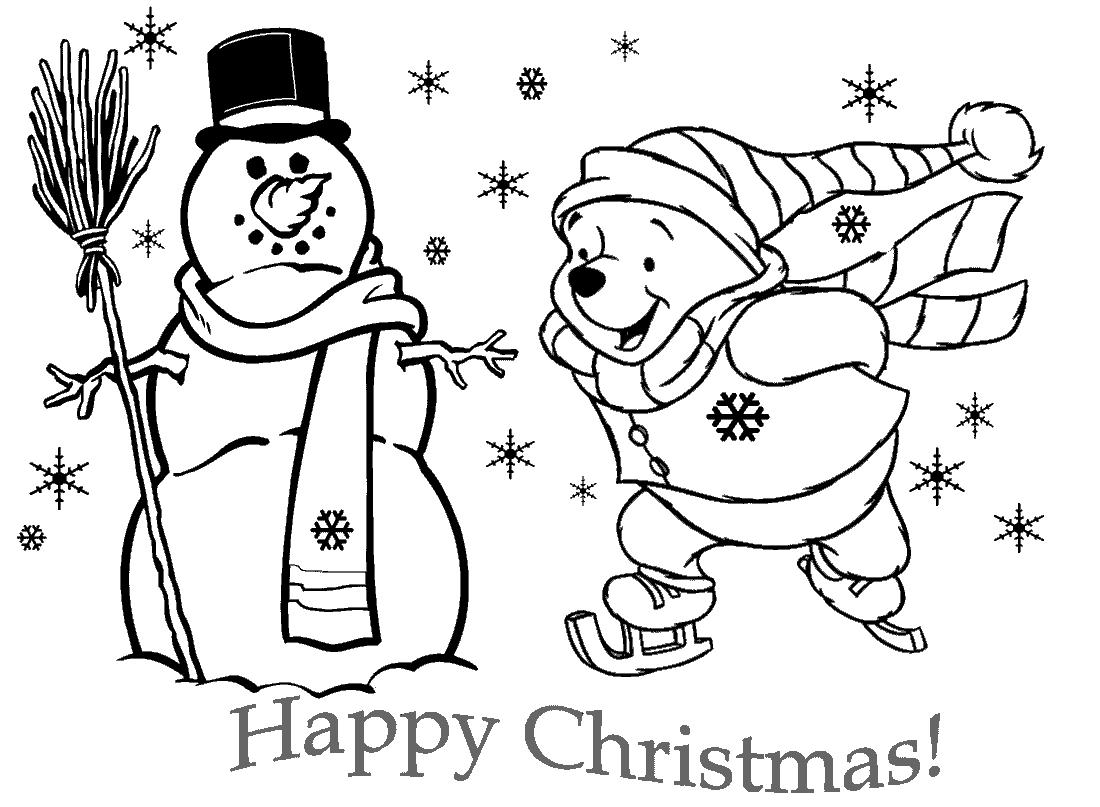 Imágenes para colorear con mensaje de Feliz Navidad | Colorear imágenes