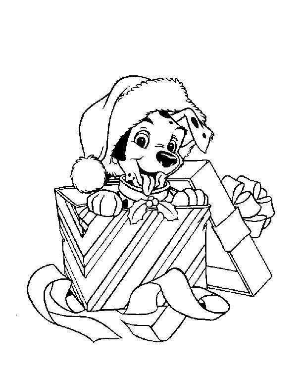 Imágenes con dibujos de disney de Navidad para colorear | Colorear ...