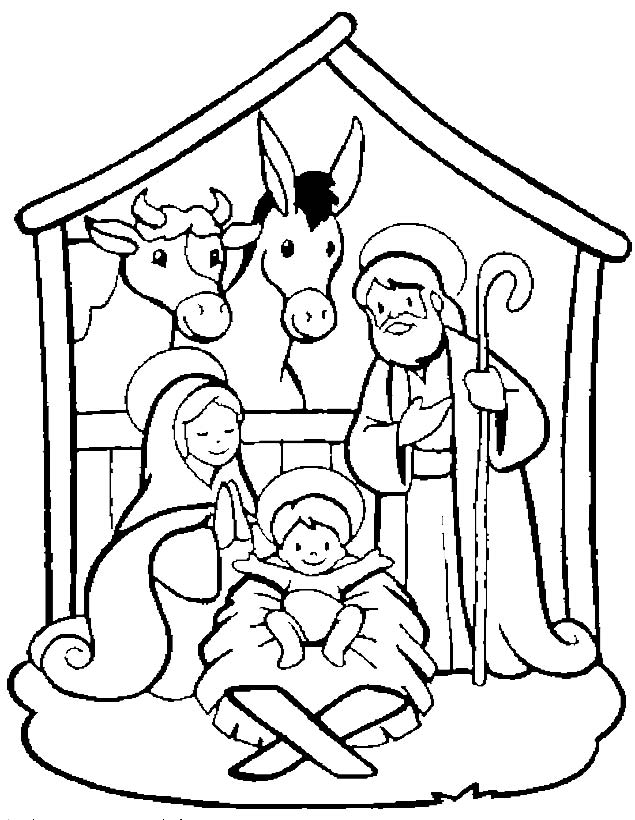 Imágenes navideñas para descargar gratis y colorear | Colorear imágenes