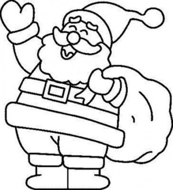 Imágenes para colorear de Dibujos de Navidad | Colorear imágenes