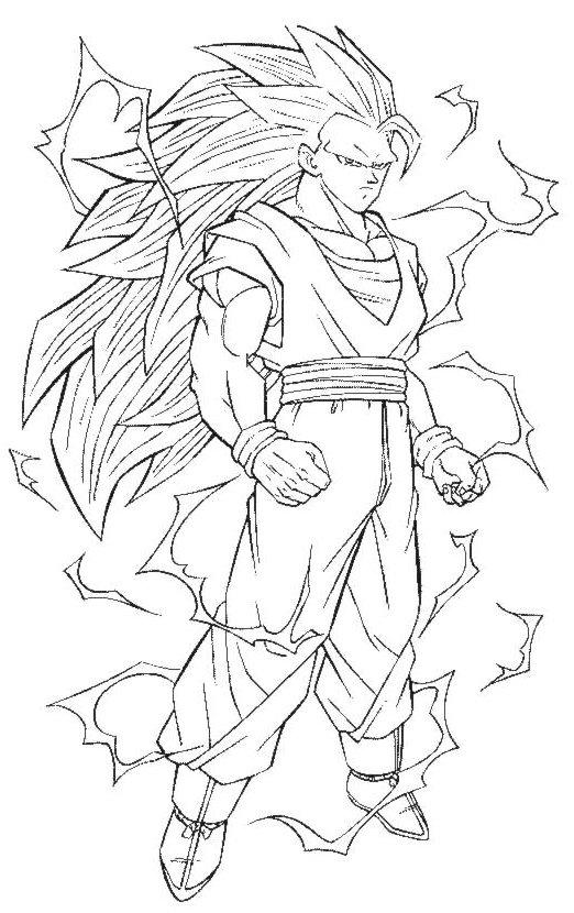 60 Imágenes de Dragon Ball Z para colorear dibujos ...