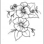 60 Imágenes de flores para Colorear dibujos