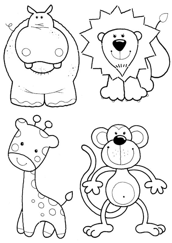 60 Imágenes De Animales Para Colorear Dibujos Colorear