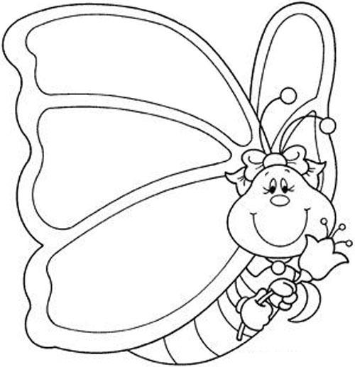 Dibujos De Mariposas Para Colorear Colorear Imagenes
