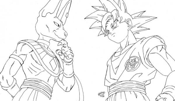 60 Imágenes De Dragon Ball Z Para Colorear Dibujos Colorear Imágenes