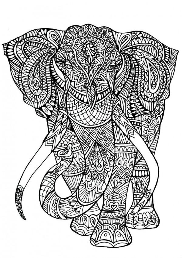 Dibujos De Mandalas De Animales Y Flores Para Colorear Colorear
