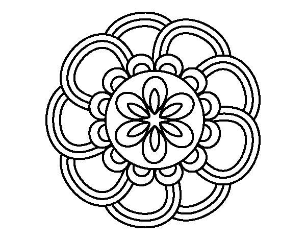 Dibujos Para Imprimir Y Colorear De Mandalas: 60 Imágenes De Mandalas Para Colorear Dibujos Para
