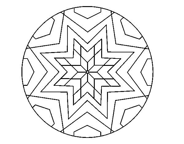 60 Imágenes de Mandalas para colorear dibujos para descargar e ...