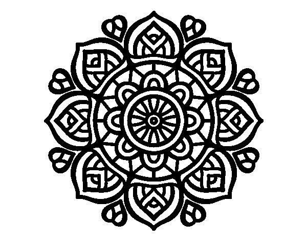 60 Imagenes De Mandalas Para Colorear Dibujos Para