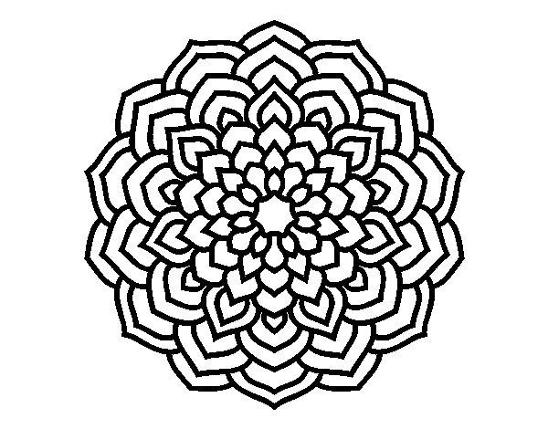 Dibujos Para Imprimir Y Colorear Mandalas: 60 Imágenes De Mandalas Para Colorear Dibujos Para