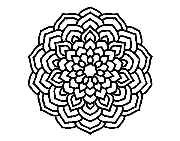 60 Imagenes De Mandalas Para Colorear Dibujos Para Descargar E - Mandalas-sin-pintar