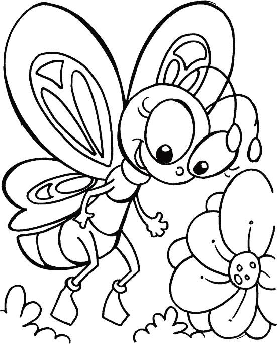 Dibujos De Mariposas Para Colorear Colorear Imágenes